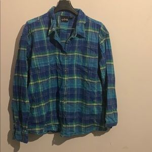 cg.l.cg 2x cool colors flannel long sleeve